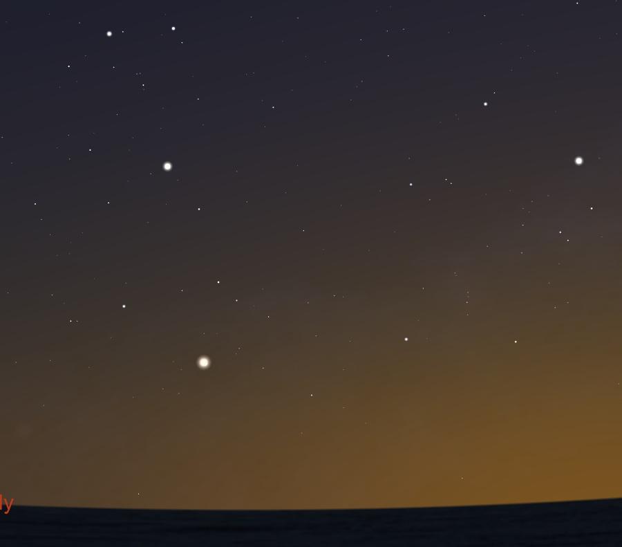 A bolygók együttállása május 20-án